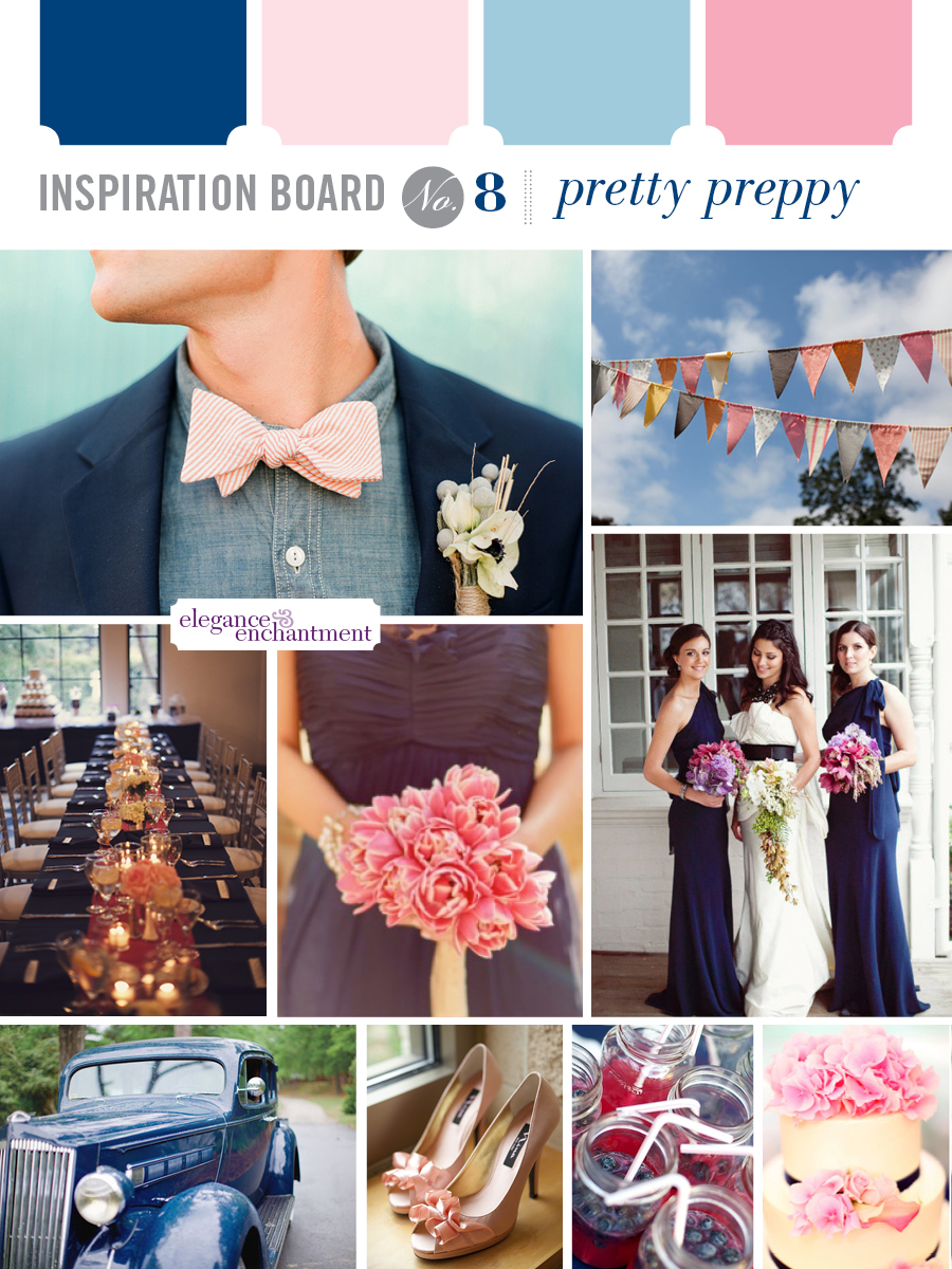 Wedding Inspiration - Pretty Preppy