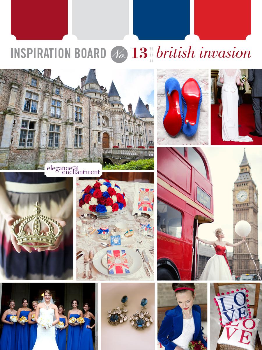 Wedding Inspiration - British Invasion