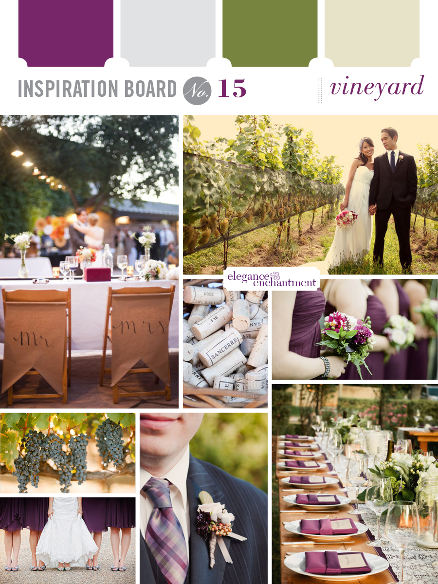 Wedding Inspiration - Vineyard