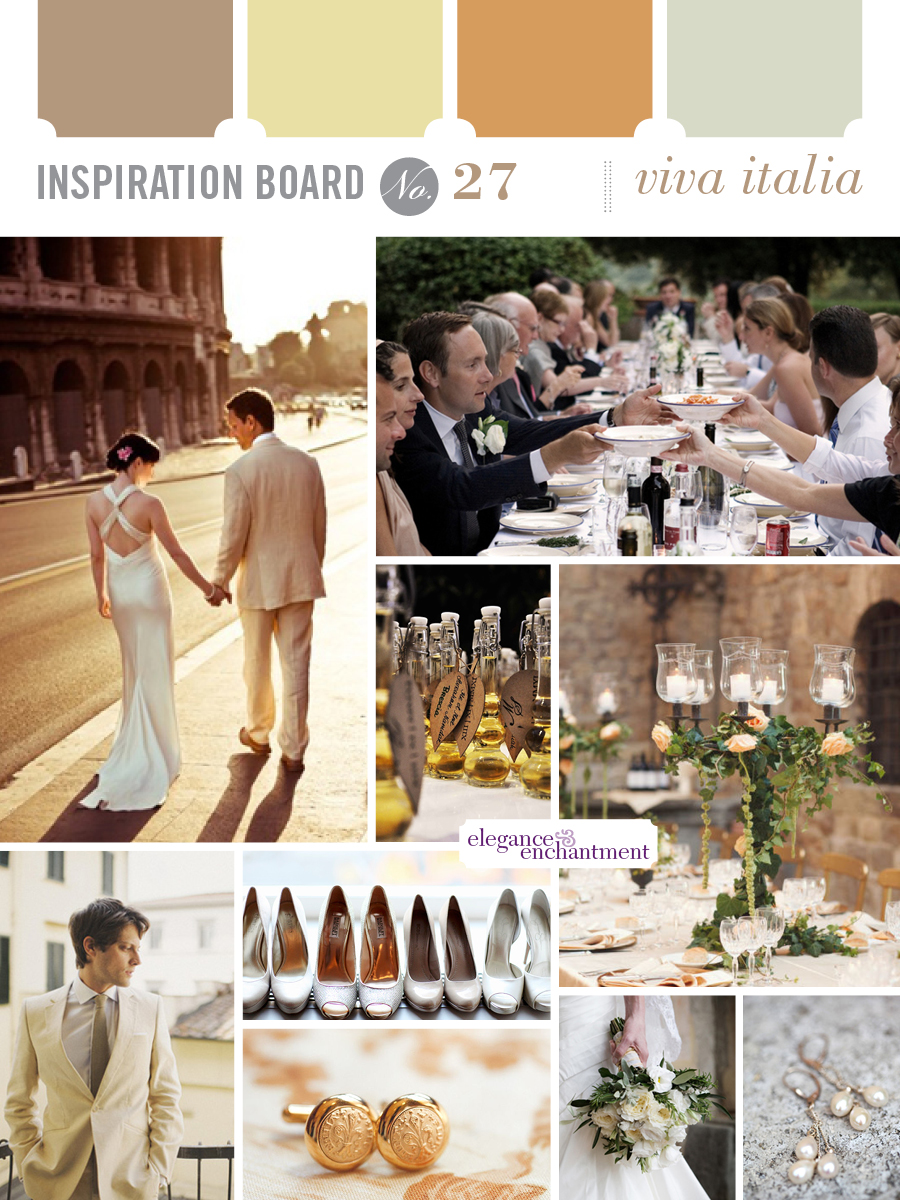 Wedding Inspiration - Viva Italia