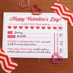 Valentine's Day Coupon Printable