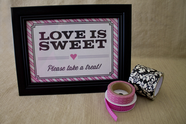 Printable Candy Table Sign