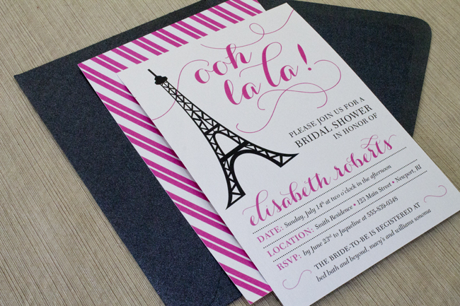 Printable Bridal Shower Invitation + More!