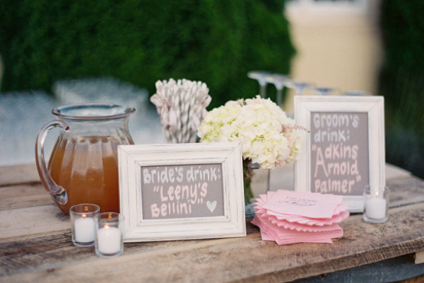 Wedding trend signature drinks junglespirit