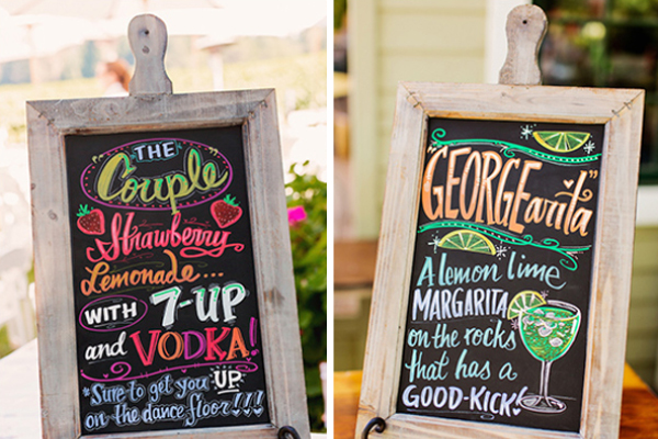 Wedding trend signature drinks signature drinks junglespirit Gallery