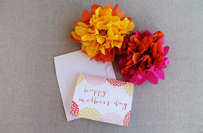 Mother's Day Card and Tag Printable Photos