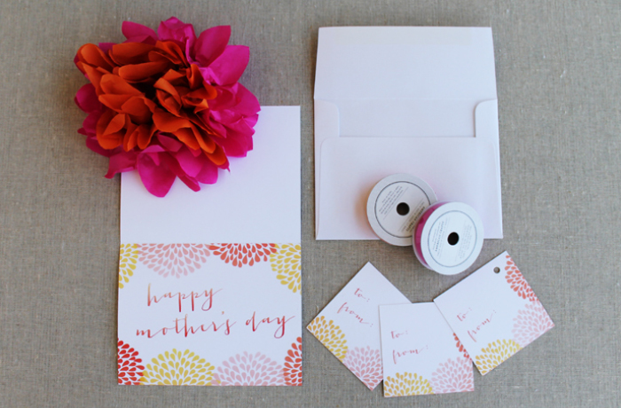 Mother's Day Card and Tag Printable Photos2