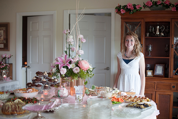 traditional southern bridal shower