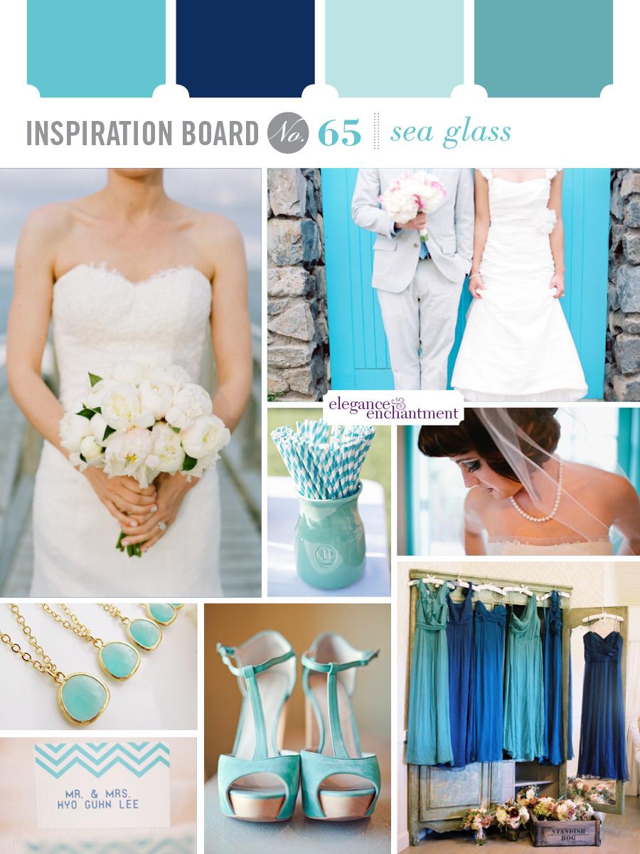 inspiration board 65 sea glass