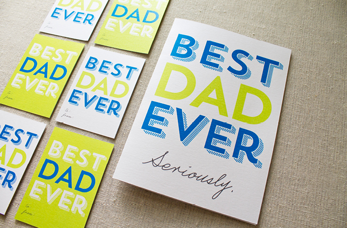 Father's Day Card and Tag Printable Photos