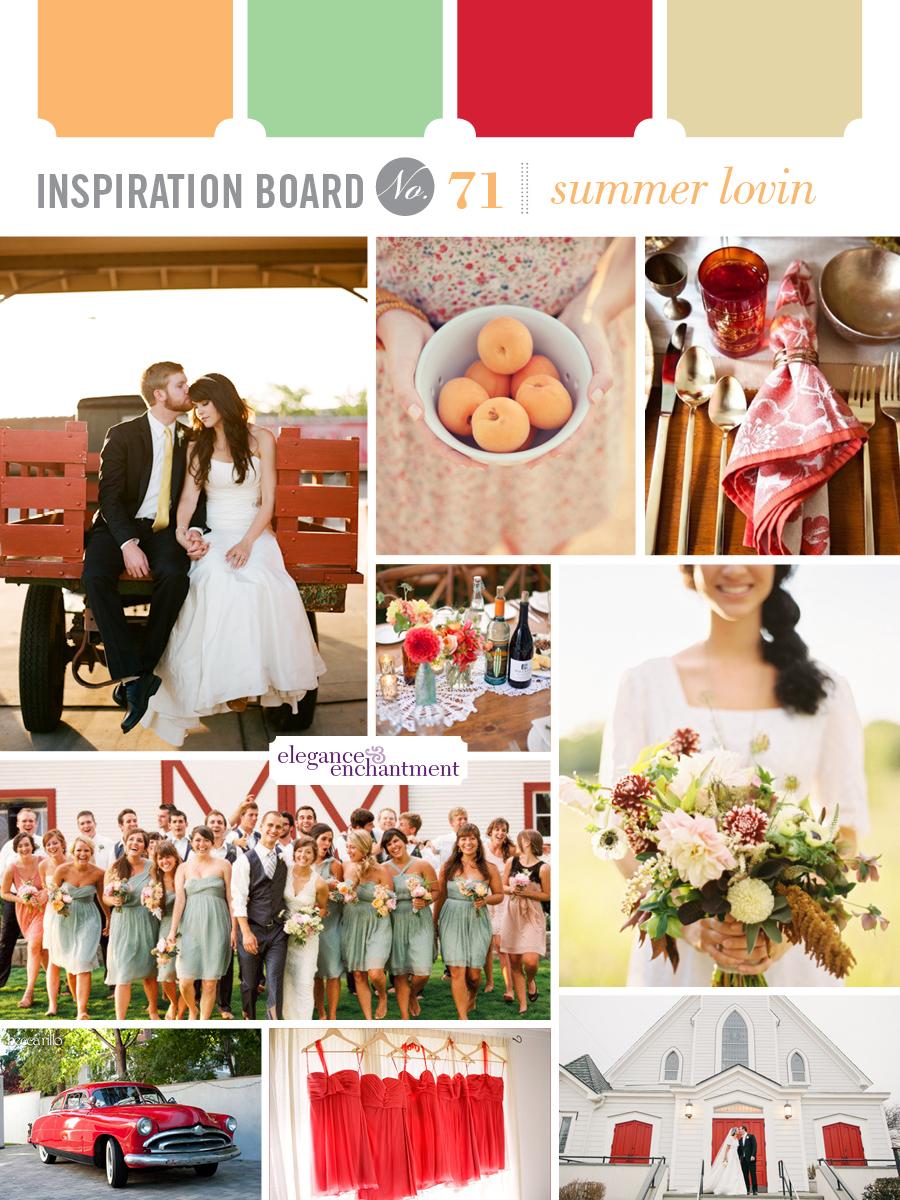 Inspiration Board - Summer Lovin