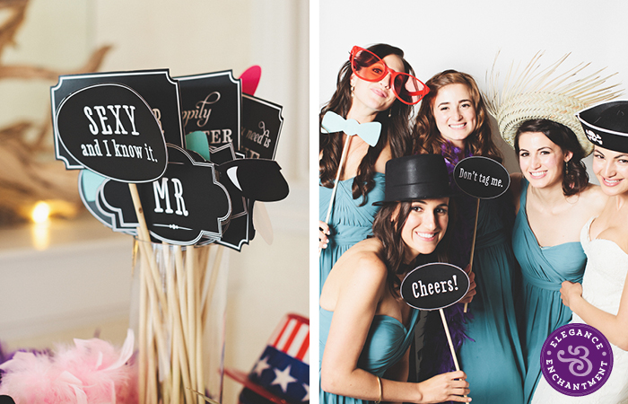 Elegance and Enchantment Printable Photo Booth Sign