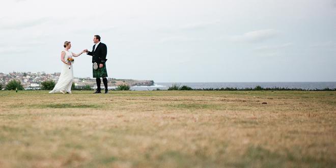 Scottish-Aussie Wedding