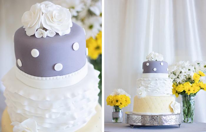 Modern Yellow And Grey Wedding17