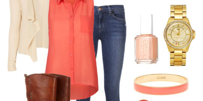 Outfit of the Week - Coral Crush