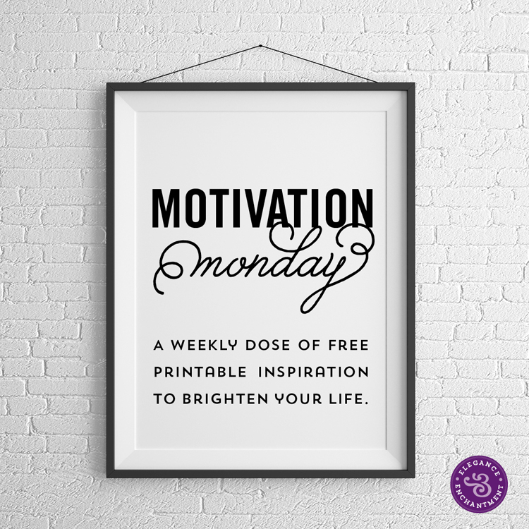 motivation monday free printable audrey hepburn