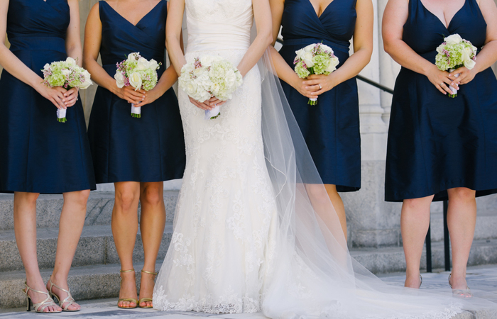Clic Navy And Lilac Wedding