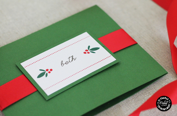Elegance and Enchantment Gift Card Packaging