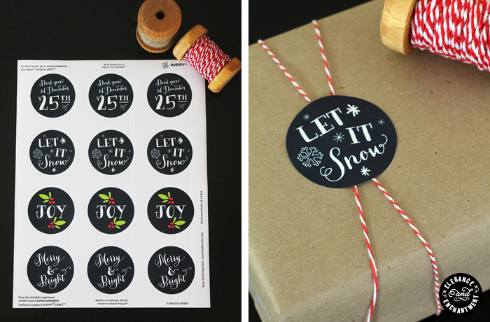 12 Days of Holiday Design: Day 4 - Stickers
