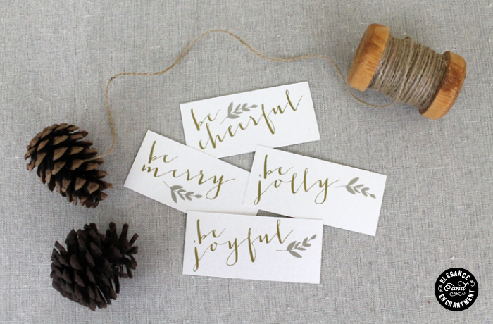 12 Days of Holiday Design: Day 9 – Place Cards