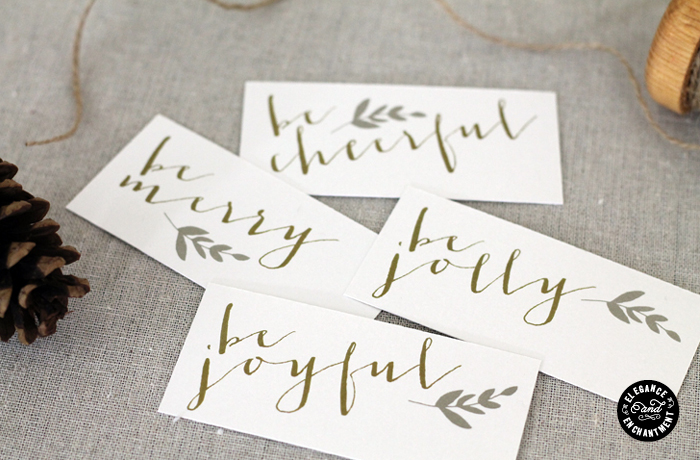 Elegance and Enchantment Place Cards