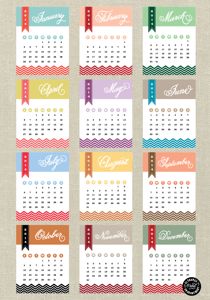 12 Days Of Holiday Design Day 10 Calendar