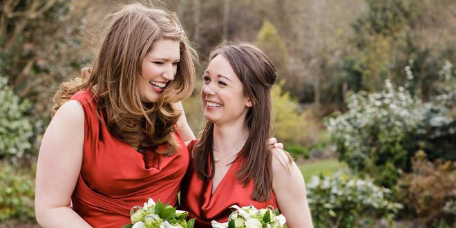 Crimson and Gold Wedding