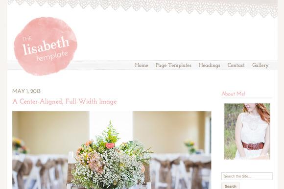 Creative Market Website Theme