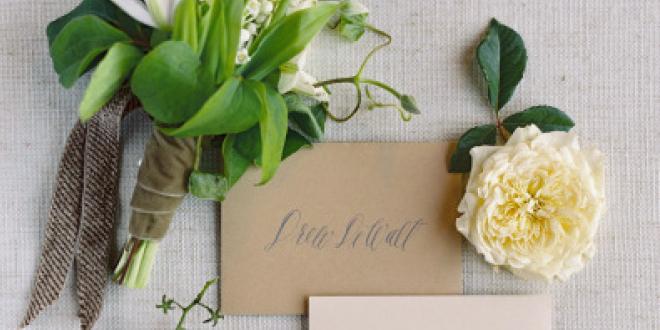 Earth Angel Wedding Inspiration