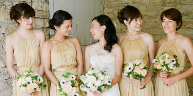 Wedding Inspiration - Botanic and Bronze