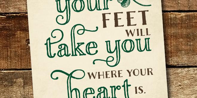 Motivation Monday – Free Printable – Irish Proverb