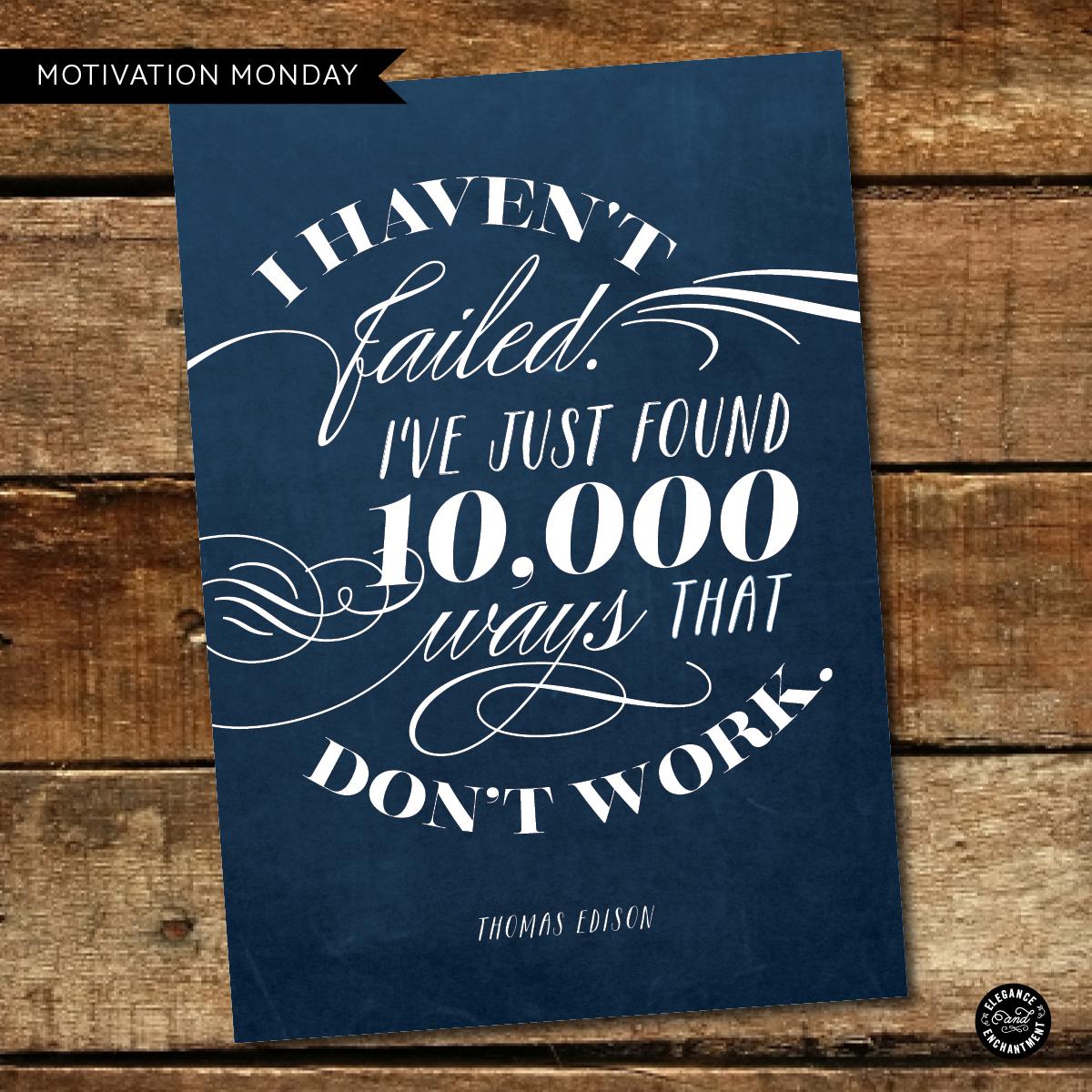 Motivation Monday - Free Printable