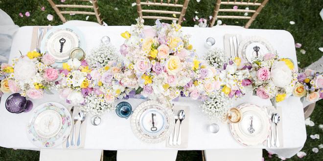 Pretty Pastels Wedding Style Shoot