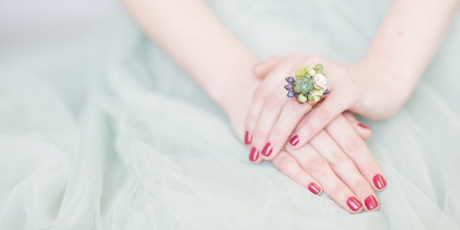 Romantic Florals Style Shoot