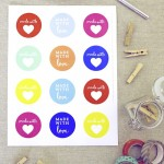 For all the things you make with love. Free printable…