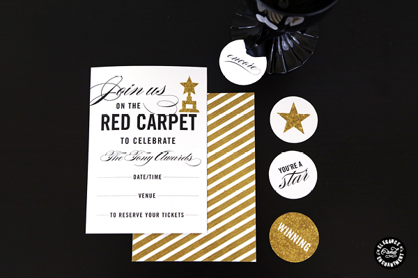 Invitations Red Carpet