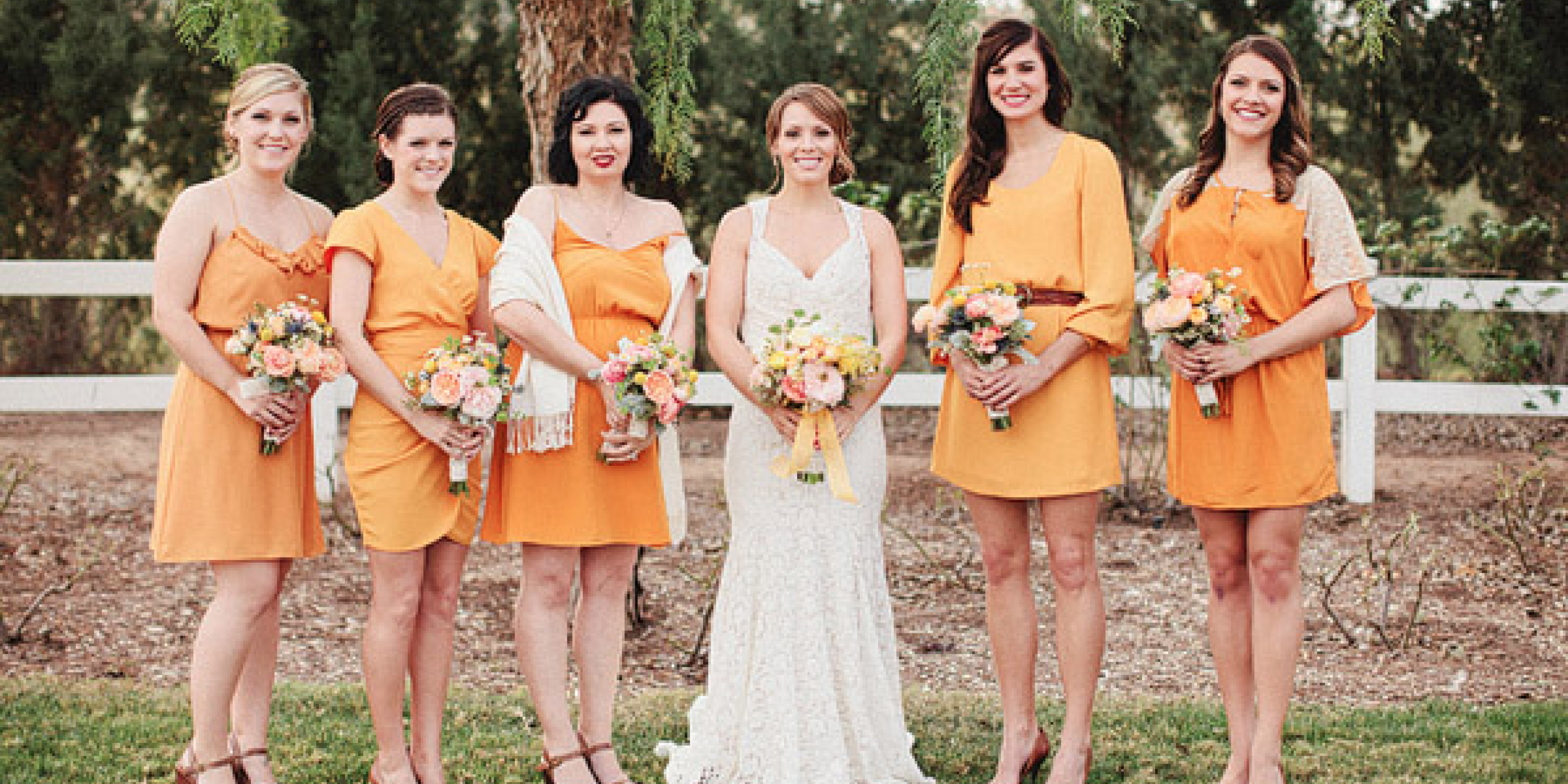 Orange Crush Wedding Inspiration