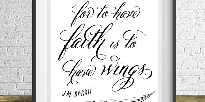 JM Barrie Free Printable