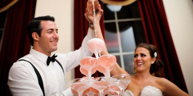 Glamorous Black Tie Wedding