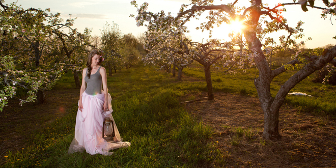 Springtime Orchard Style Shoot