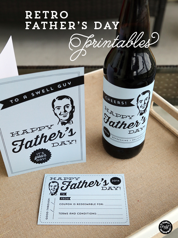 Elegance and Enchantment Fathers Day Printables
