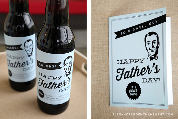 Father's Day Printables - Cards, Labels and a Printable Coupon