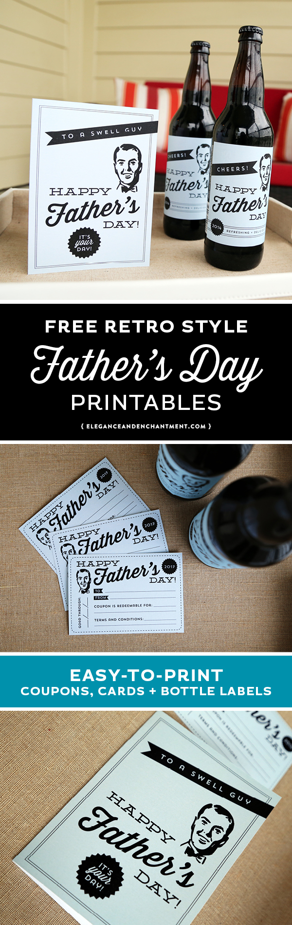 father u0027s day printables cards labels and a printable coupon