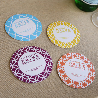 Free Printable Coasters from Elegance and Enchantment