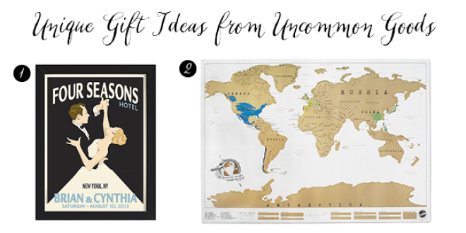 Unique wedding gift ideas from uncommon goods publicscrutiny Images