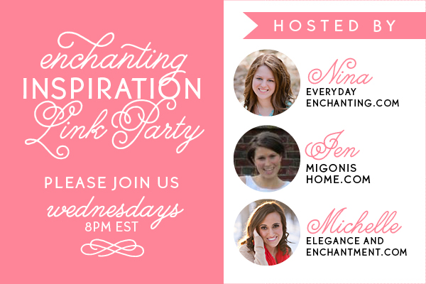 Enchanting Inspiration Link Party Header