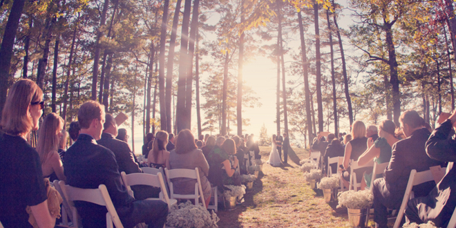 Rustic October Wedding by Blaine Siesser Photography