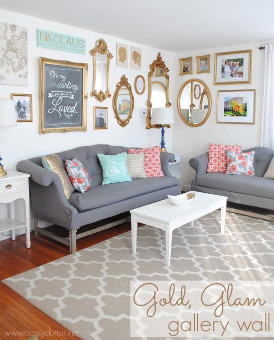 Gallery Wall - Classy Clutterer