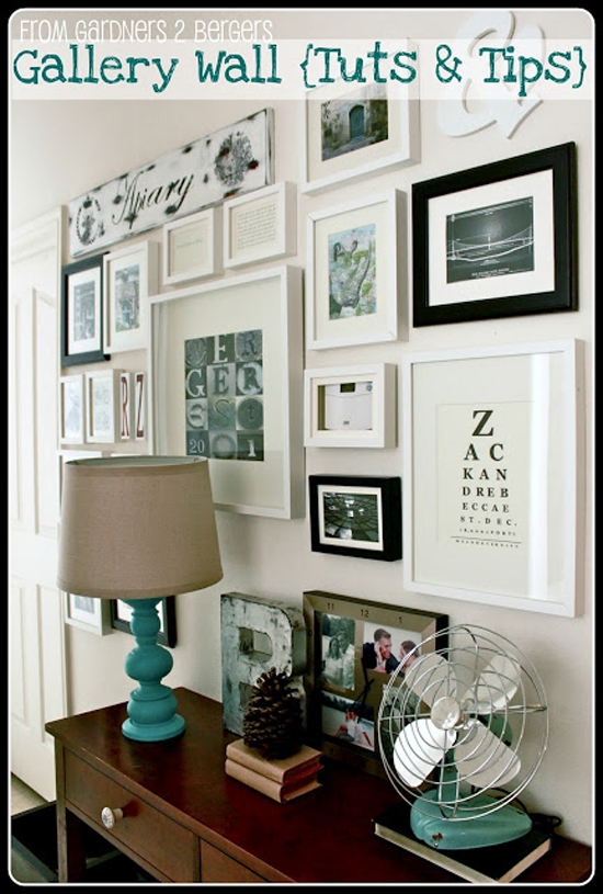Gallery Wall - From Gardners 2 Bergers