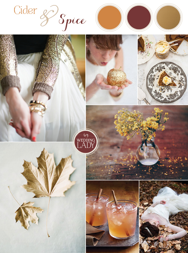Cider and Spice Wedding Inspiration from Hey Wedding Lady